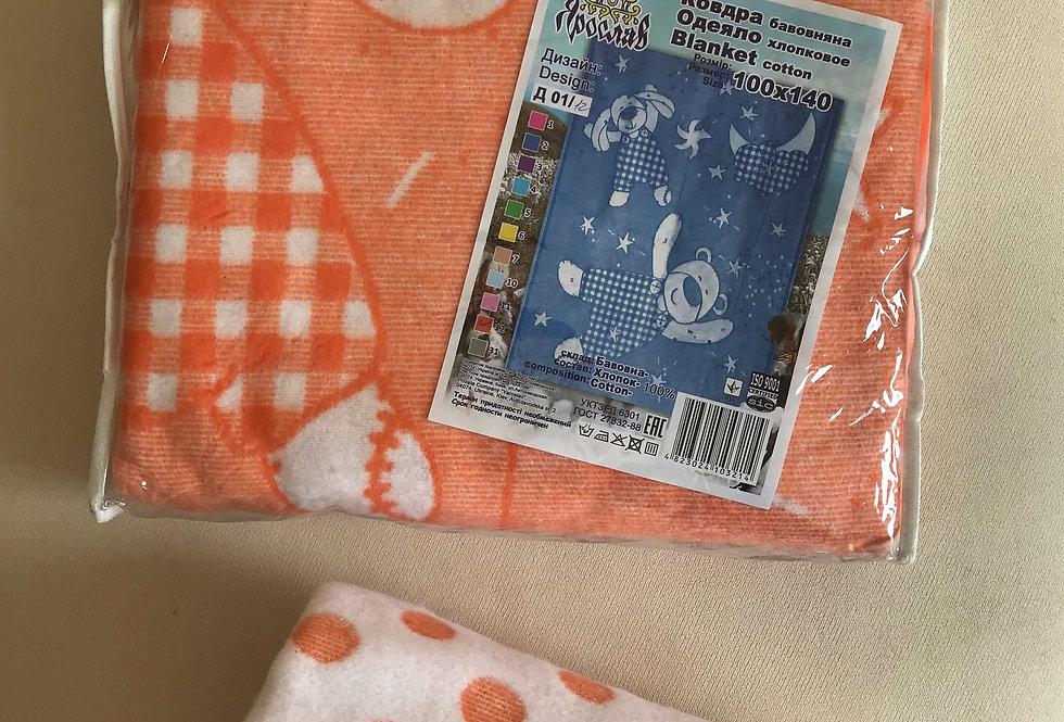 Одеяло в упаковке хлопок Ярослав (В)