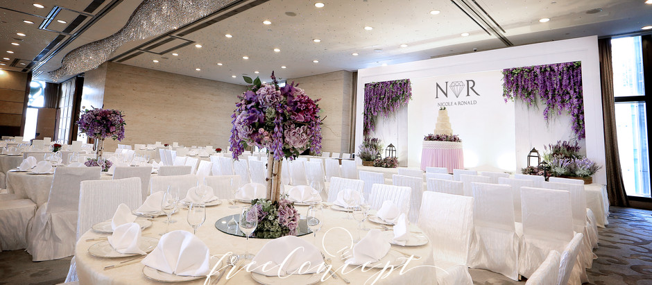 婚禮佈置 | Harbour Grand Hong Kong 港島海逸君綽酒店