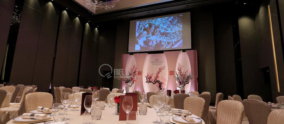 全新主題婚禮佈置|Crowne Plaza Kowloon  East 九龍東皇冠假日酒店