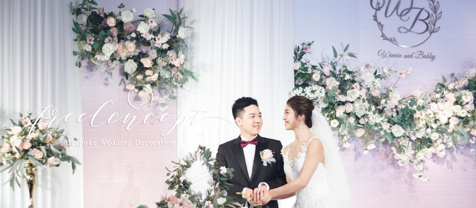 Free Concept Wedding Decoration | 從設計中展現新人所想