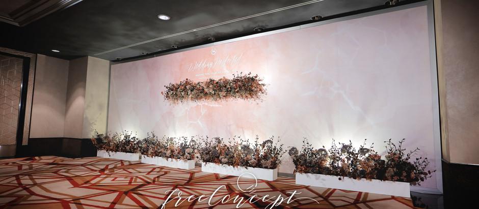 婚禮佈置 | Sheraton Hotel Hong Kong 香港喜來登酒店