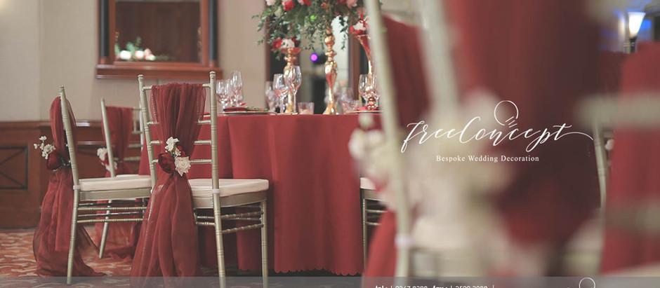 新人至愛場地佈置   Free Concept Wedding Decoration