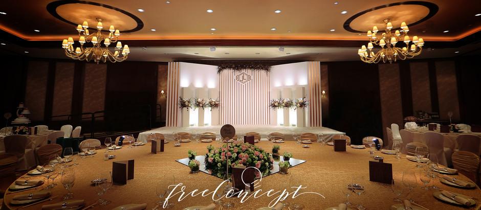 婚禮佈置 | Conrad Hong Kong 香港港麗酒店