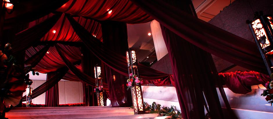 中式婚禮佈置 | 香港洲際酒店 Intercontinental Hotel