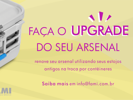 Renove seu arsenal!