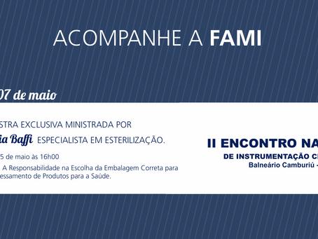 FAMI NO II ENCONTRO NACIONAL DE INSTRUMENTAÇÃO CIRÚRGICA