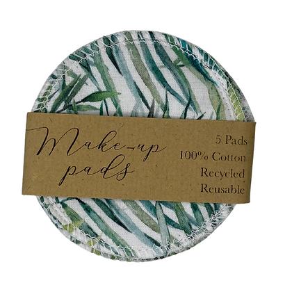 Leaf Pattern Cotton Pads