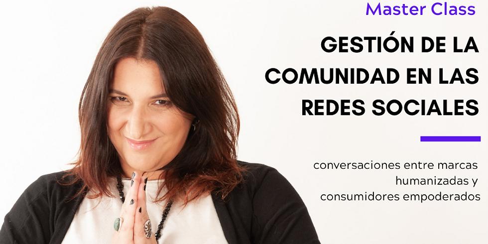 GESTIÓN DE LA COMUNIDAD EN LAS REDES SOCIALES - Octubre