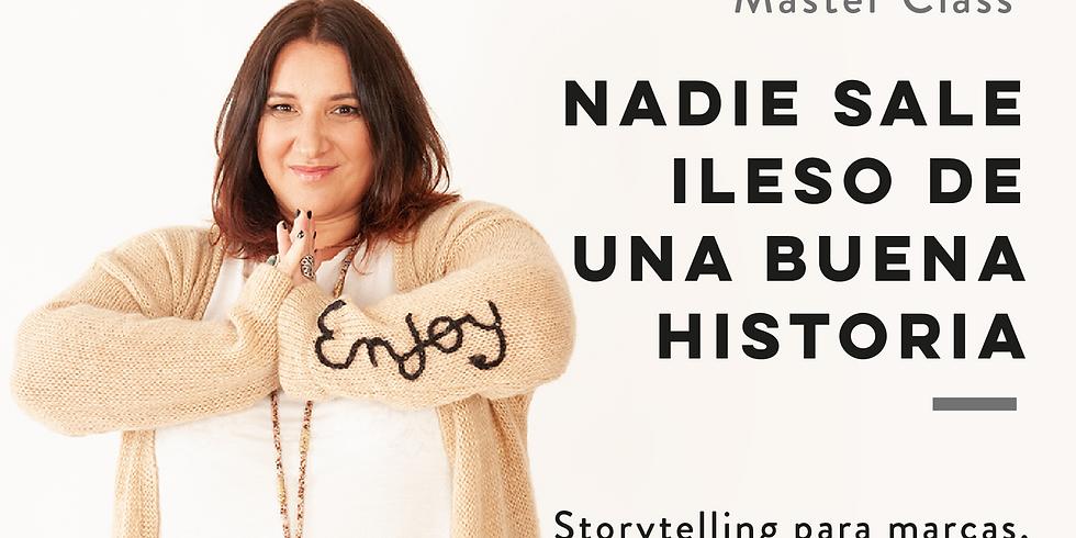 NADIE SALE ILESO DE UNA BUENA HISTORIA (1)