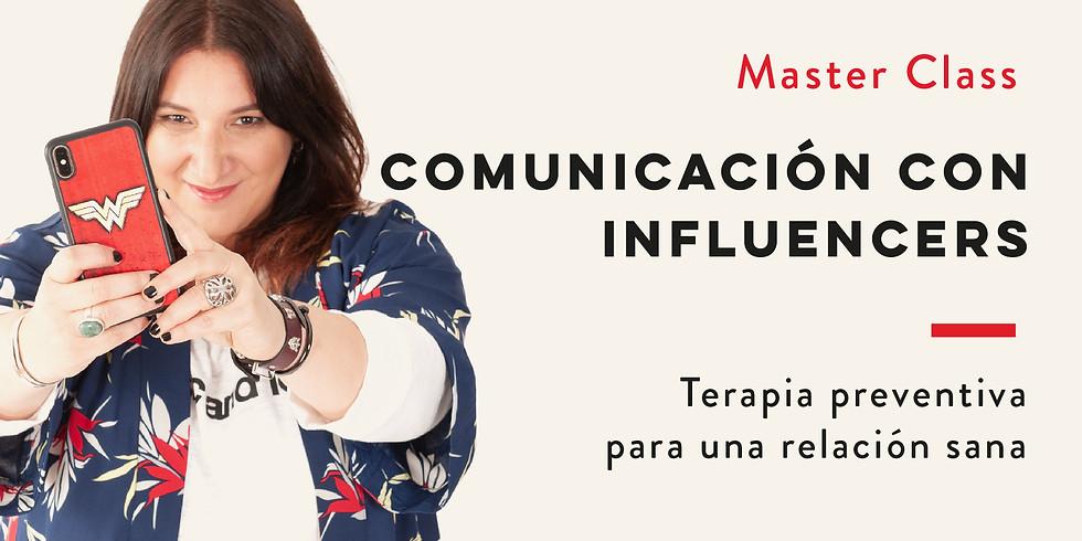 COMUNICACIÓN CON INFLUENCERS