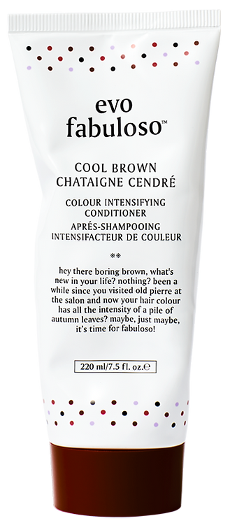 Evo Fabuloso Cool Brown Colour Enhancing Conditioner - 220ml