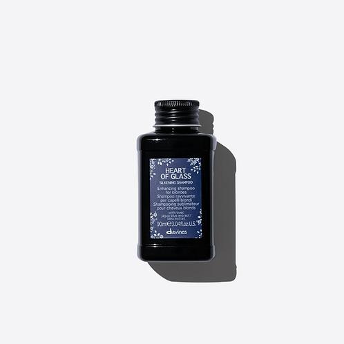 Davines Heart of Glass Silkening Shampoo - 90ml Travel Size