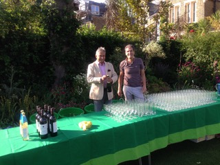Bartenders for garden party