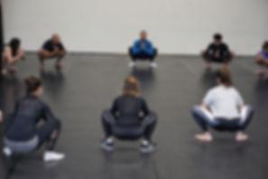 Lerne einen Squat | Warm Up | Samotion