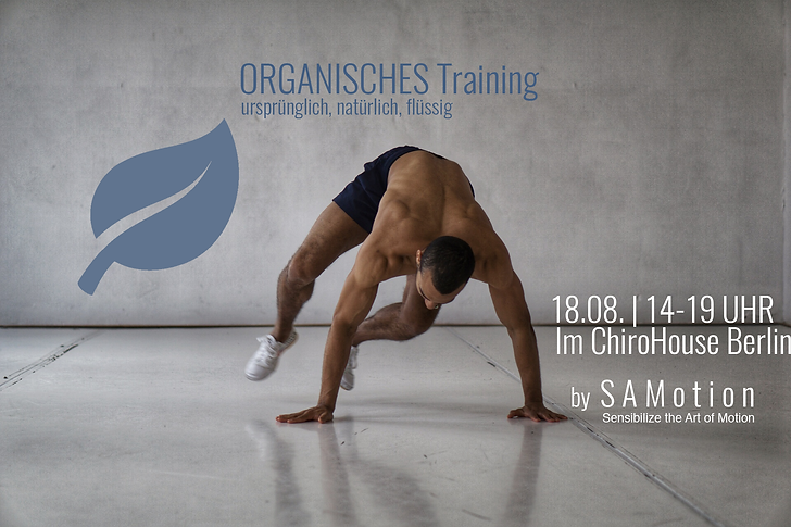 ChiroHouse | SAMotion Workshop. Lerne dich richtig zu bewegen