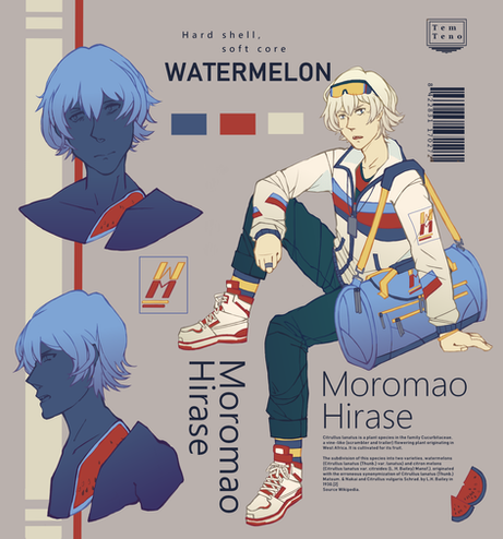 Character sheet - Watermelon
