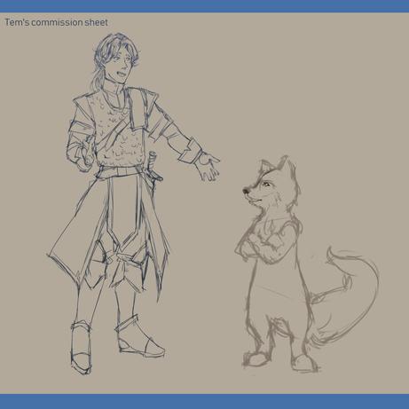 Character design sheet 2