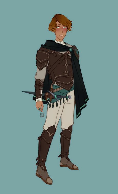 Character design - Reidar