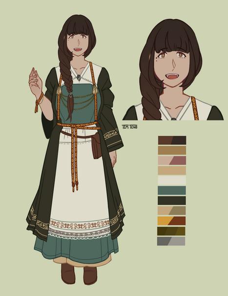 Character sheet - Liselotte