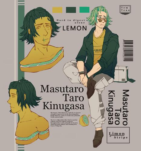 Character sheet - Lemon
