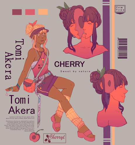 Character sheet - Cherry