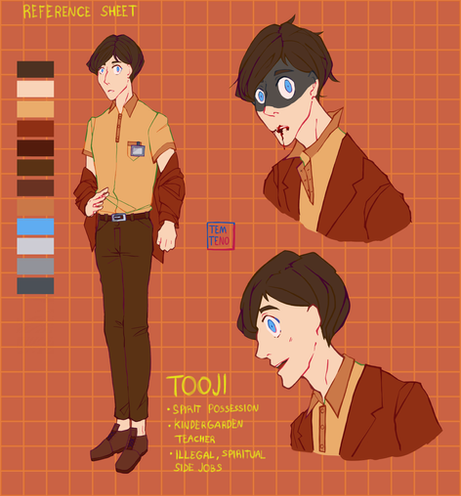 Tooji character sheet 1