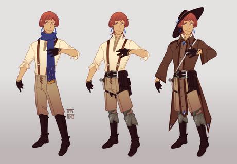 Character sheet - Jilryn