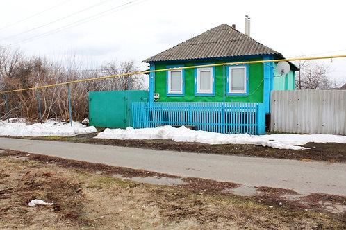 Дом в с. Беломестное Новооскольского района Белгородской области