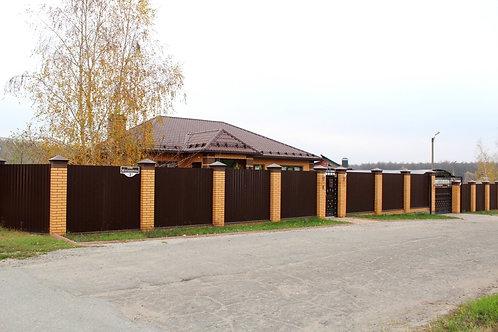 Дом в г. Новый Оскол Белгородской области ул. Мосьпанова