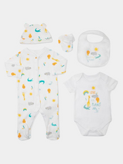 Nursery Organic Cotton Gift Set