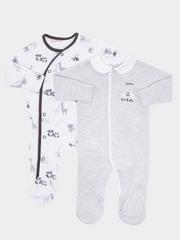 Nursery 2 Pack Fashion Sleepsuits