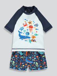 Toddler Boys 2 Piece Swim Set