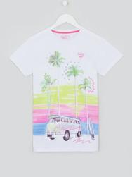 Older Boys Placement Print T-shirt