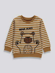 Toddler Boys Placement Print Sweater