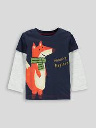 Toddler Boys Long Sleeved T-shirt