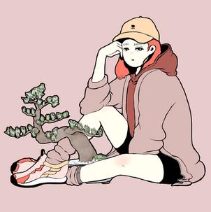 可愛い盆栽