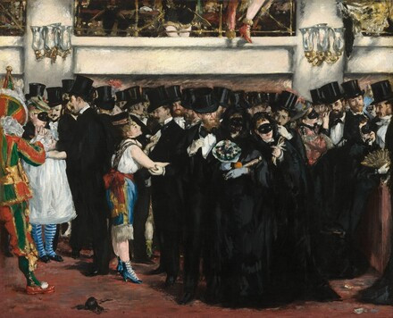 "Manet's ""Masked Ball at the Opera"""
