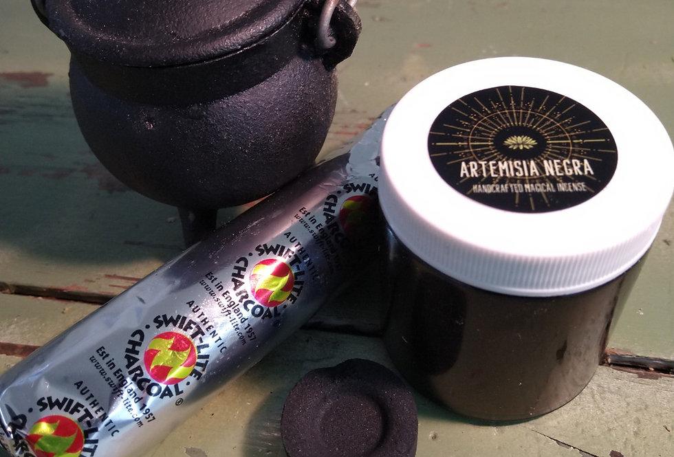 Artemisia Negra Incense Kit