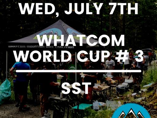 Whatcom World Cup Race #3   Wed, July 7th