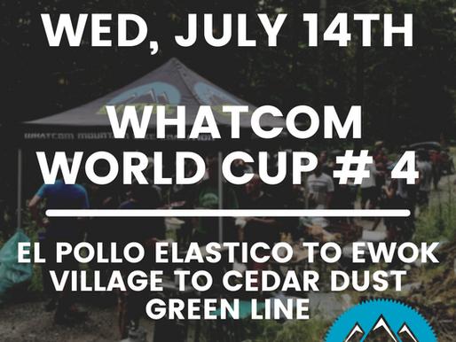 Whatcom World Cup Race #4   Wed, July 14th