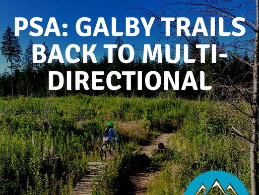 Galbraith Mountain Trails are back to Multi-Directional