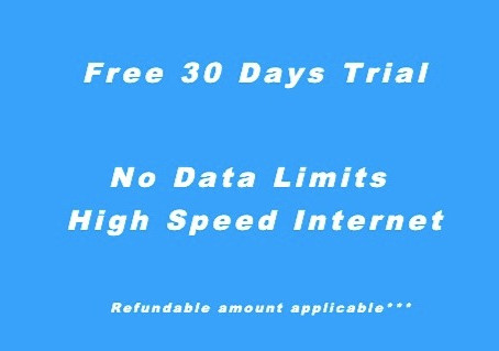 ThunderNet Fiber 30 Days Free Internet Trial
