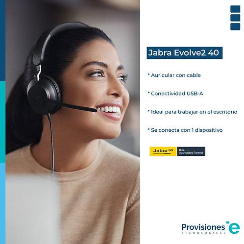 Jabra Evolve2 40 UC USB-A