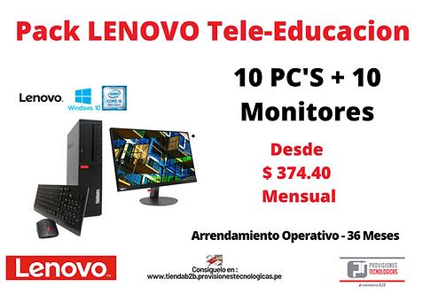 Pack Lenovo Tele-Educacion