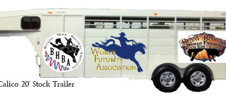 Stock Trailer Giveaway during 2018 WNFR
