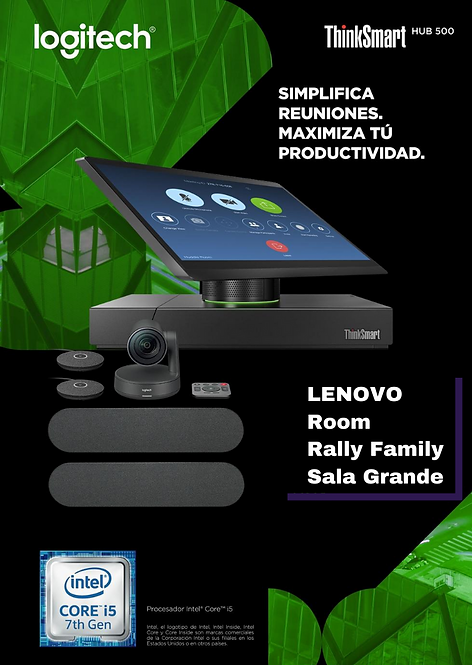 Lenovo Room Sala Grande  (Smart Hub 500 + Rally Family )