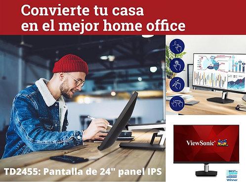 ViewSonic TD2455 monitor tactil