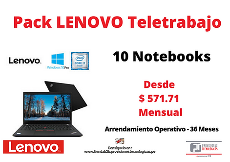 Pack Lenovo Teletrabajo