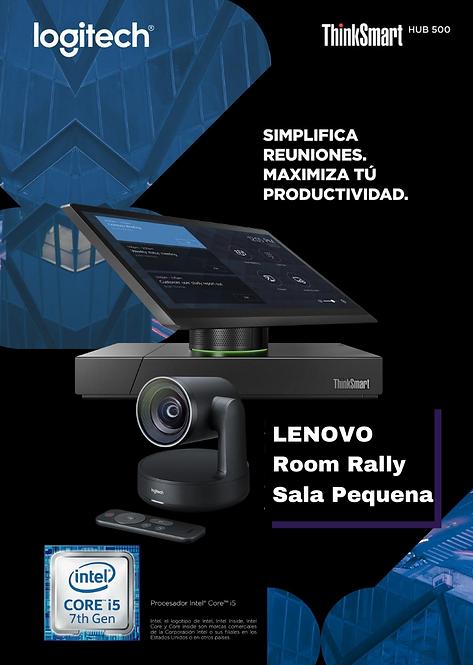 Lenovo Room Sala Pequeña Rally (Smart Hub 500 + Rally Camara )
