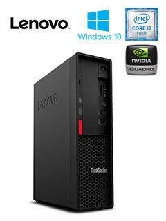 ThinkStation Lenovo P330 SFF, Intel Core i7-8700 3.2GHz, 16GB , 256Gb, 1TB